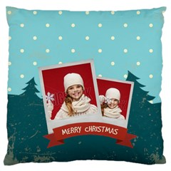 Xmas By Xmas   Large Flano Cushion Case (two Sides)   Oek4l4g47sgf   Www Artscow Com Front