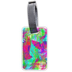 Birds In Flight Luggage Tag (one Side) by icarusismartdesigns