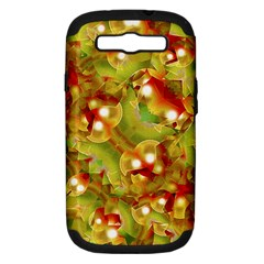 Christmas Print Motif Samsung Galaxy S Iii Hardshell Case (pc+silicone) by dflcprints
