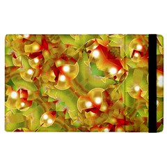 Christmas Print Motif Apple Ipad 3/4 Flip Case by dflcprints