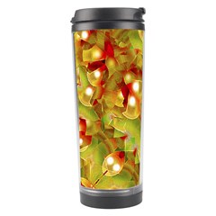 Christmas Print Motif Travel Tumbler by dflcprints