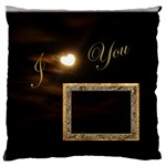 I Heart You Moon Standard Flano cusion case - Standard Flano Cushion Case (One Side)