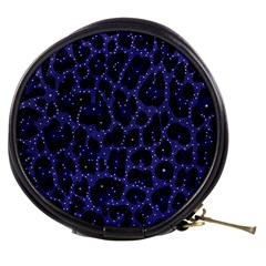 Blue Leapord Bling Mini Makeup Case by OCDesignss