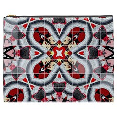 Fashion Girl Red Cosmetic Bag (xxxl) by OCDesignss