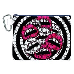Bling Lips  Canvas Cosmetic Bag (XXL) by OCDesignss