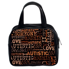 I Love Someone Autistic  Classic Handbag (Two Sides) by OCDesignss