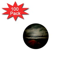 Dark Empty Road 1  Mini Button Magnet (100 Pack) by dflcprints
