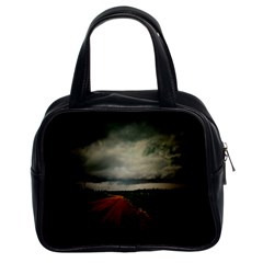 Dark Empty Road Classic Handbag (two Sides) by dflcprints