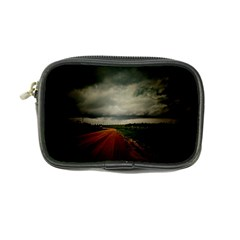 Dark Empty Road Coin Purse by dflcprints