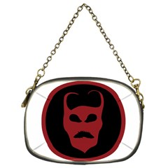 Devil Symbol Logo Chain Purse (one Side) by dflcprints