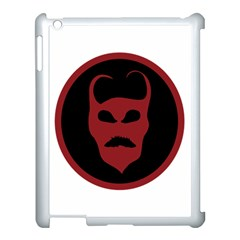 Devil Symbol Logo Apple Ipad 3/4 Case (white) by dflcprints