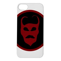 Devil Symbol Logo Apple Iphone 5s Hardshell Case by dflcprints