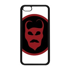 Devil Symbol Logo Apple Iphone 5c Seamless Case (black) by dflcprints