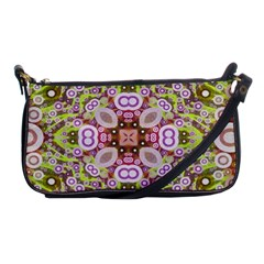 Crazy Abstract Pattern Evening Bag by OCDesignss