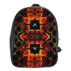 Lava Rocks  School Bag (XL) by OCDesignss