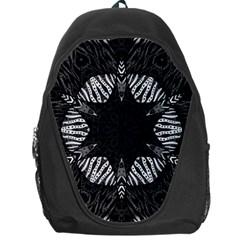 Zebra Cat Paws Pattern Backpack Bag by OCDesignss