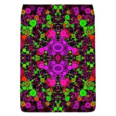 Abstract Florescent Unique  Removable Flap Cover (large) by OCDesignss