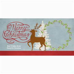 Christmas Sentiments Ii Card No  1 By One Of A Kind Design Studio   4  X 8  Photo Cards   Svk8qmk35kq9   Www Artscow Com 8 x4 Photo Card - 2
