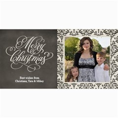 Christmas Sentiments Ii Card No  2 By One Of A Kind Design Studio   4  X 8  Photo Cards   1zvnou7htr9j   Www Artscow Com 8 x4 Photo Card - 8