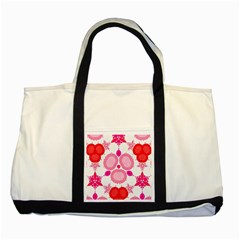 Strawberry Shortcakee Two Toned Tote Bag