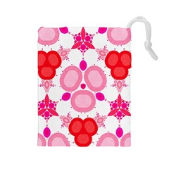 Strawberry Shortcakee Drawstring Pouch (large)