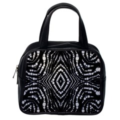 Zebra Twists  Classic Handbag (one Side) by OCDesignss