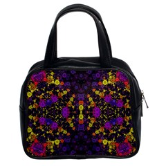 Color Bursts  Classic Handbag (two Sides) by OCDesignss