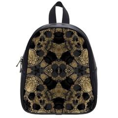 Golden Skulls  School Bag (small) by OCDesignss