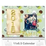 pam calendar - Wall Calendar 11  x 8.5  (12-Months)