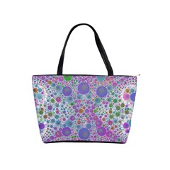 Pink Purple Abstract  Large Shoulder Bag by OCDesignss