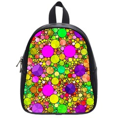 Girly Bling Pattern  School Bag (small) by OCDesignss