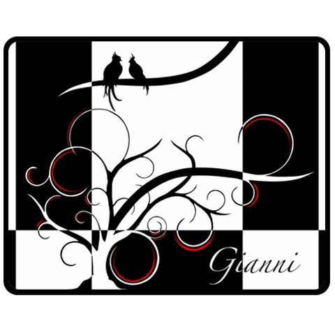 Gianni Blanket By Sierra Nitz   Fleece Blanket (medium)   Kf9fg7vbyilg   Www Artscow Com 60 x50 Blanket Front