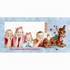 Christmas Companions Card No  1 By 4dannidesigns   4  X 8  Photo Cards   Mqkgo8iw6imd   Www Artscow Com 8 x4 Photo Card - 4