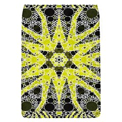 Bright Yellow Black  Removable Flap Cover (small) by OCDesignss
