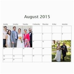 2015 Stauffer Calendar By Getthecamera   Wall Calendar 11  X 8 5  (12 Months)   8snwpr4zmj4j   Www Artscow Com Aug 2015