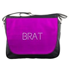 Brat Pink Messenger Bag by OCDesignss