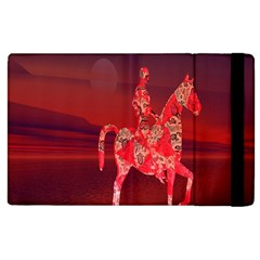 Riding At Dusk Apple Ipad 3/4 Flip Case by icarusismartdesigns