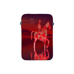 Riding At Dusk Apple Ipad Mini Protective Sleeve by icarusismartdesigns
