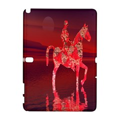 Riding At Dusk Samsung Galaxy Note 10 1 (p600) Hardshell Case by icarusismartdesigns