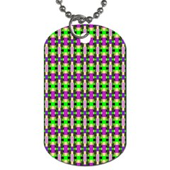 Pattern Dog Tag (one Sided) by Siebenhuehner