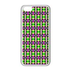 Pattern Apple Iphone 5c Seamless Case (white) by Siebenhuehner