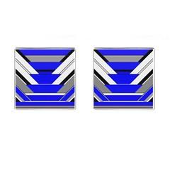 Pattern Cufflinks (square) by Siebenhuehner