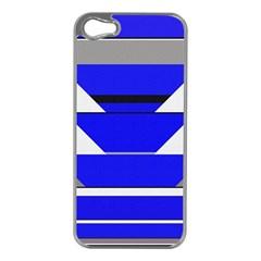 Pattern Apple Iphone 5 Case (silver) by Siebenhuehner