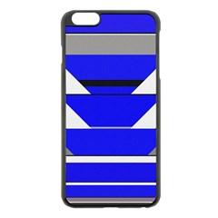 Pattern Apple Iphone 6 Plus Black Enamel Case by Siebenhuehner