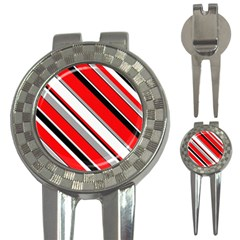 Pattern Golf Pitchfork & Ball Marker by Siebenhuehner