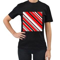 Pattern Women s T Shirt (black) by Siebenhuehner