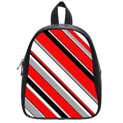 Pattern School Bag (small) by Siebenhuehner