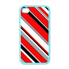Pattern Apple Iphone 4 Case (color) by Siebenhuehner
