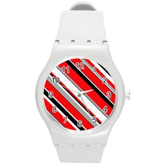 Pattern Plastic Sport Watch (medium) by Siebenhuehner
