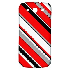 Pattern Samsung Galaxy S3 S Iii Classic Hardshell Back Case by Siebenhuehner